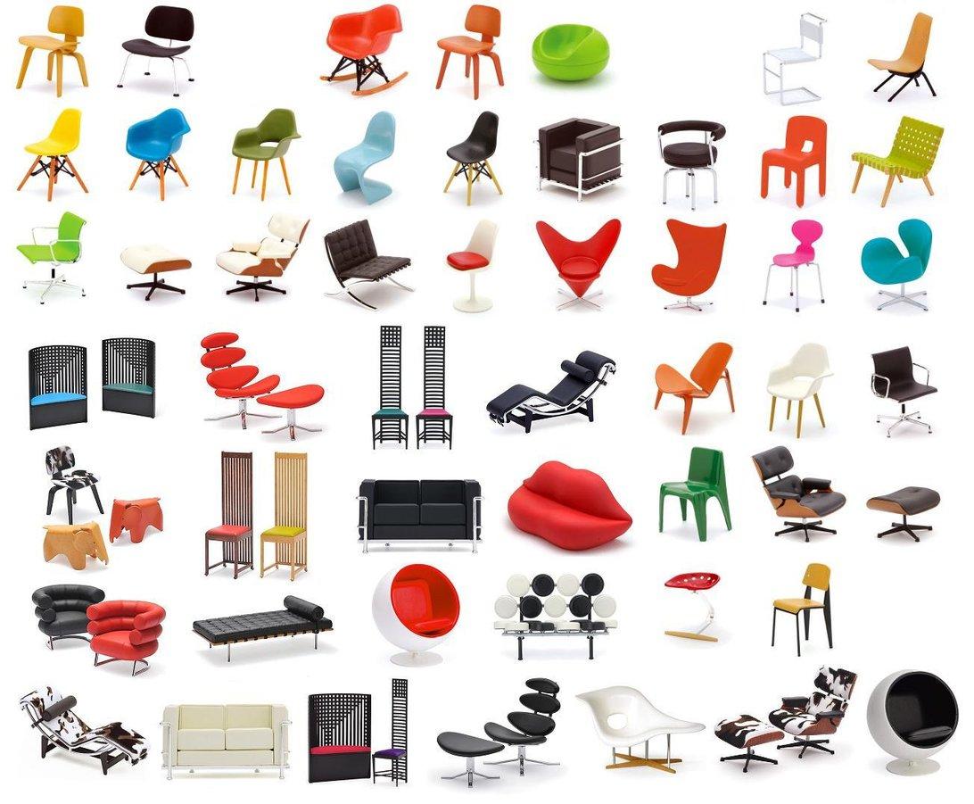 Designer-stoeltjes
