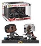 Funko Pop! Vinyl figuur - Star Wars The Last Jedi Movie Moments 257 Finn, Captain Phasma Rematch of the Supremacy