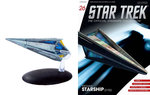 Eaglemoss model - Star Trek The Official Starships Collection 26 Tholian Starship 2152