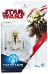 Hasbro actiefiguur - Star Wars The Last Jedi Force Link C1531/C3465 Yoda