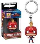 Funko Pocket Pop! Keychain - Marvel Captain Marvel Captain Marvel Masked