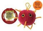 Giant Microbes Keychain - Science Biology Disease 01082 COVID-19 Coronavirus Disease 2019