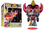 Funko Pop! Vinyl Figure - Scifi Power Rangers 497 Megazord Glow in the Dark