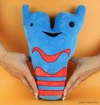 I Heart Guts Plush - Science Biology Larynx