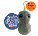 Giant Microbes sleutelhanger Gonorrhea (Clap)
