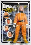 Space 1999 8 inch action figure Professor Bergman Black Sun