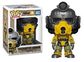 Funko Pop! Vinyl Figure - Games Fallout 76 482 Excavator Armor