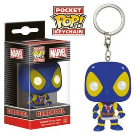 Funko Pocket Pop! Keychain - Marvel X-Men Deadpool Blue X-Men suit