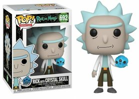 Funko Pop! Vinyl Figure - Animation Rick and Morty 692 Rick with Crystal Skull