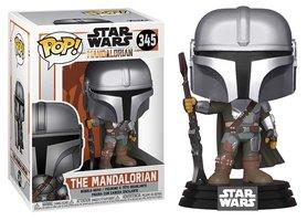 Funko Pop! Vinyl figuur - Star Wars The Mandalorian 345 The Mandalorian