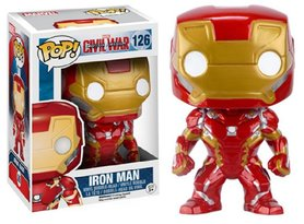 Funko Pop! Vinyl figuur - Marvel Captain America Civil War 126 Iron Man