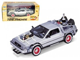Welly model - Scifi Back to the Future III 22444W Delorean Time Machine 1:24