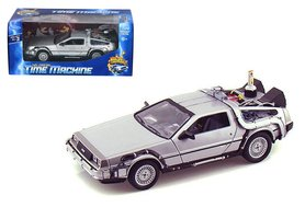Welly model - Scifi Back to the Future II 22441W Delorean Time Machine 1:24