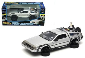 Welly model - Scifi Back to the Future II 22441FV-GW Delorean Time Machine 1:24 Fly Mode