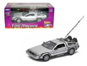 Welly model - Scifi Back to the Future I 22443W Delorean Time Machine 1:24
