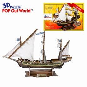 3D Puzzel: Mystic (zeilschip)