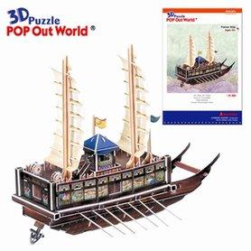 3D Puzzel: Panok ship (groot)