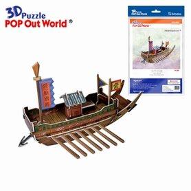 3D Puzzel: Panok ship (klein)