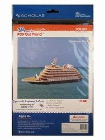 3D Puzzel: Passenger ship