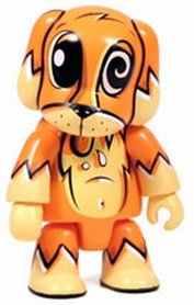 Toxic Swamp (Joe Ledbetter) - 2.5 inch (6cm) Qee oranje hond