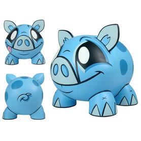 Piggy Bank blue - Spaarpot blauw (Joe Ledbetter)