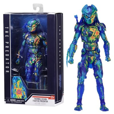 Neca actiefiguur - Scifi The Predator Fugitive Predator Thermal Vision