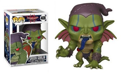 Funko Pop! Vinyl figuur - Marvel Spider-man Into The Spider-verse 408 Green Goblin