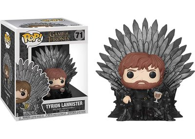 Funko Pop! Vinyl figuur - Fantasy Game of Thrones 71 Tyrion Lannister on Iron Throne