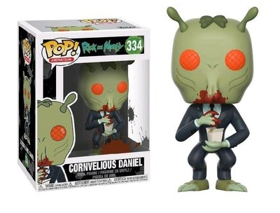 Funko Pop! Vinyl figuur - Animatie Rick and Morty 334 Cornvelious Daniel with Mulan Sauce