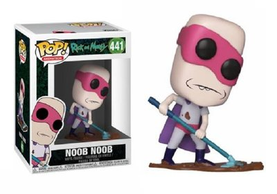 Funko Pop! Vinyl figuur - Animatie Rick and Morty 441 Noob Noob