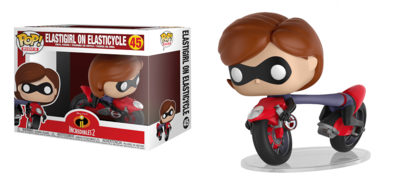 Funko Pop! Vinyl figuur - Animatie Incredibles 45 Elastigirl on Elasticyle