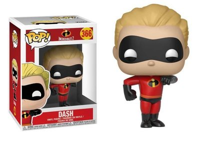 Funko Pop! Vinyl figuur - Animatie Incredibles 366 Dash