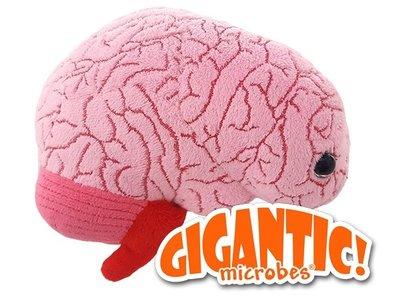 Giant Microbes Gigantic - Wetenschap biologie orgaan hersenen Plush