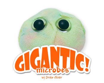 Giant Microbes Gigantic - Wetenschap biologie cel stamcel Plush