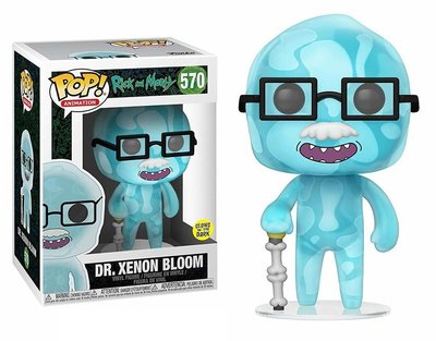 Funko Pop! Vinyl figuur - Animatie Rick and Morty 570 Dr. Xenon Bloom Glow in the Dark