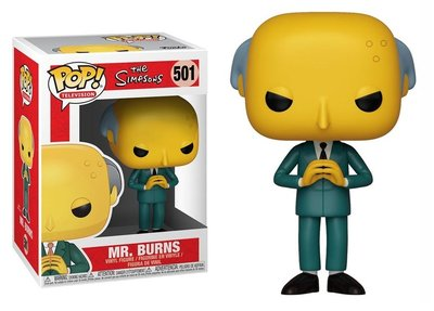 Funko Pop! Vinyl figuur - Animatie The Simpsons 501 Mr. Burns