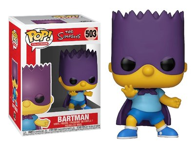 Funko Pop! Vinyl figuur - Animatie The Simpsons 503 Bart Simpson Bartman