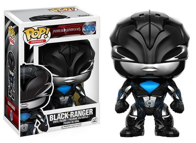Funko Pop! Vinyl figuur - Scifi Power Rangers 396 Black Ranger