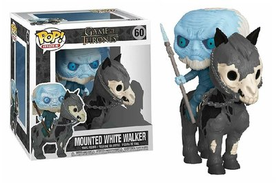 Funko Pop! Vinyl figuur - Fantasy Game of Thrones 60 White Walker Mounted