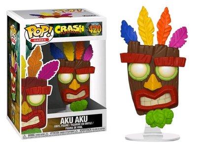 Funko Pop! Vinyl figuur - Games Crash Bandicoot 420 Aku Aku