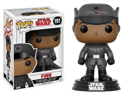 Funko Pop! Vinyl figuur - Star Wars The Last Jedi 191 Finn