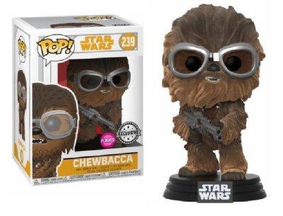 Funko Pop! Vinyl figuur - Star Wars Solo 239 Chewbacca Flocked Exclusive