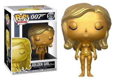 Funko Pop! Vinyl figuur - Actie James Bond 007 Goldfinger 519 Golden Girl