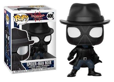 Funko Pop! Vinyl figuur - Marvel Spider-man Into The Spider-verse 406 Spiderman Noir