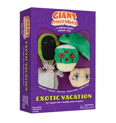 Giant Microbes boxen - Wetenschap biologie Exotic Vacation