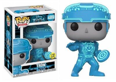 Funko Pop! Vinyl figuur - Scifi Tron 489 Tron Glow in the Dark
