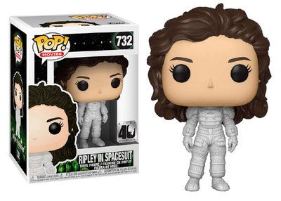 Funko Pop! Vinyl figuur - Scifi Alien 40th Anniversary 732 Ripley in Space Suit