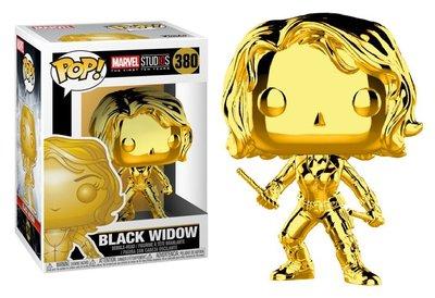 Funko Pop! Vinyl figuur - Marvel Cinematic Universe The First 10 Years 380 Black Widow Chrome