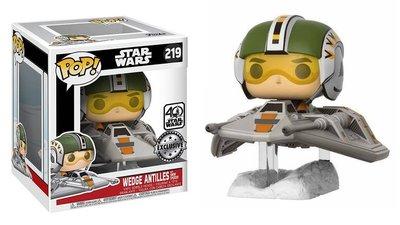 Funko Pop! Vinyl figuur - Star Wars The Empire Strikes Back 40th Anniversary 176 Wedge Antilles with Snow Speeder (Exclusive)