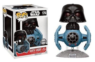 Funko Pop! Vinyl figuur - Star Wars A New Hope 40th Anniversary 221 Darth Vader with TIE Fighter (Exclusive)